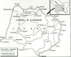 Ladakh MAP (Trekking)